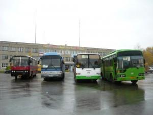 пассажирский транспорт г. Березники